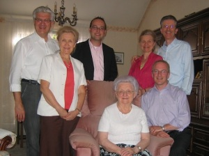 2010 - with the Nowacki family