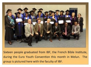 Institut Biblique de France, epufrance.org