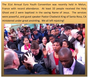 Euro Youth Convention, Melun, Chadwick King