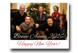 Happy New Year, 2016, January 1st, premier janvier