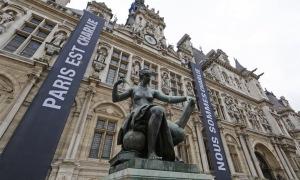 Paris, Hôtel de Ville, JeSuisCharlie, NousSommesCharlie