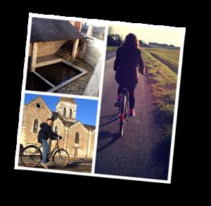du vélo à Antoigné, Châtellerault