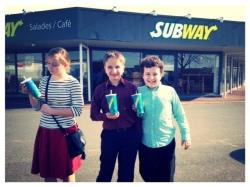 Subway, sandwich shop, Châtellerault