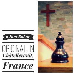 Ron Bohde, anointing oil, Châtellerault