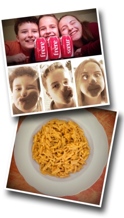 Kids, Coca-Cola, Kraft Dinner