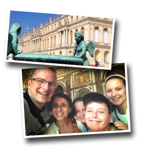 Family Selfie, Palace of Versailles