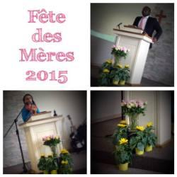 United Pentecostal Church, Châtellerault, UPCI France, Église Pentecôtiste Unie, Fête des Mères