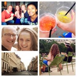 father daughter date, Paris, father daughter, lemon shakers, lemonade