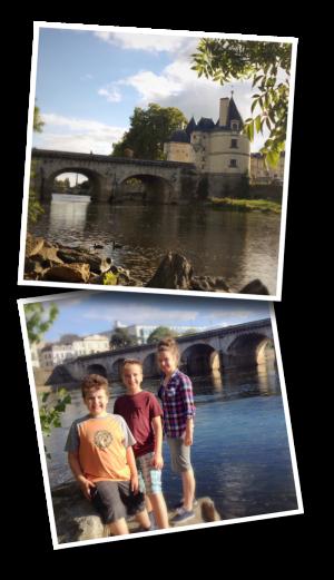 Île Cognet, Châtellerault, Pont Henri IV, La Vienne,