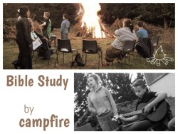 bonfire, campfire, church fellowship, Châtellerault, roasting marshmallows