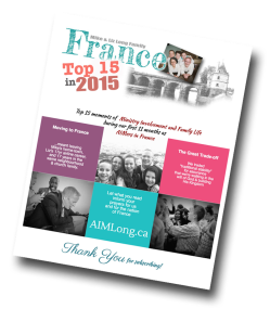 France at a Glance, Top 15, 2015, Missionary Newsletter