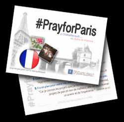 PrayforParis, Châtellerault, UPCI, Église, pentecôtiste