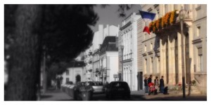 La Mairie, Châtellerault, #PrayforParis, hommage