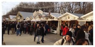Marché de Noël, Paris, Christmas Market, Champs Élysées