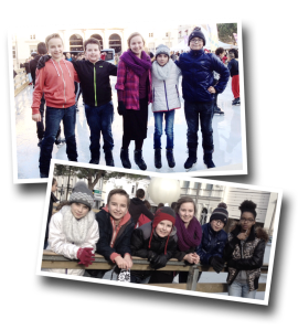 Ice skating, Christmas Eve, Châtellerault, patinoire, Mairie