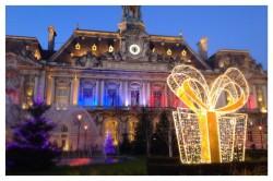 Hôtel de Ville, Tours, Loire Valley, Noël, Christmas