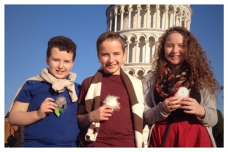 Tower of Pisa, Travel Buddies, MK Ministries, UPwithMKs