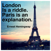 Ernest Hemingway, Paris, quotes, Eiffel Tower, Hemingway