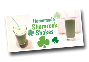 Shamrock Shakes, St. Patrick's Day, Irish, Ireland, Clover