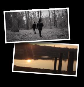 Châtellerault, le lac, la forêt, promenade