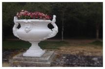 Château de Chenonceau, Chenonceau, France, Castle, Loire Valley, Flower arranging, Floral Design, urn, urne