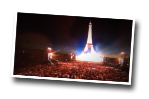 14 juillet, le concert de Paris, 2016, France 2, Eiffel Tower, Champ de Mars