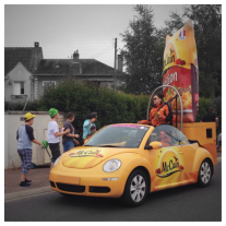 Tour de France, #TDF2016, étape 4, stage 4, Châtellerault, McCain, McCain Foods, Florenceville, New Brunswick