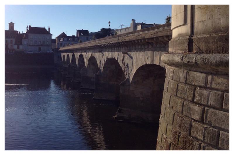 Pont Henri IV, Châtellerault, la Vienne,