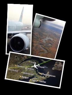 Air Canada, Moncton NB, YQM, New Brunswick, Canada, AC881