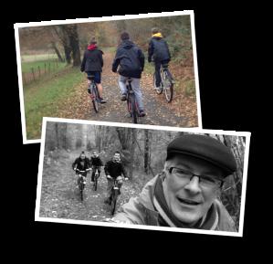 biking, ligne verte, autumn, vélo, automne