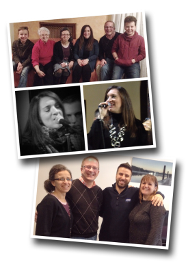 daniela benevelli, mercioni martoranto, Continental Singers, Europe, Francophone Tour