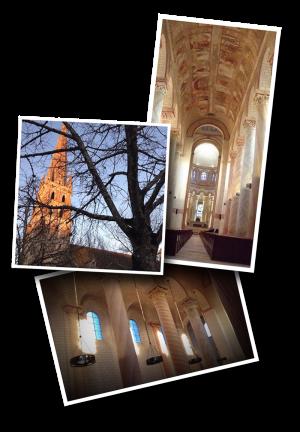 Saint Savin Abbey House, Abbaye de Saint Savin sur Gartempe, UNESCO