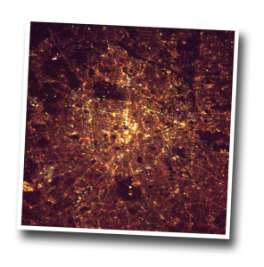 paris, from space, french astronaut,