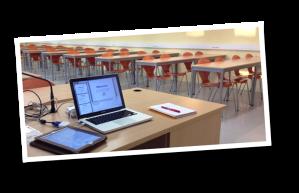 Université de Poitiers classroom