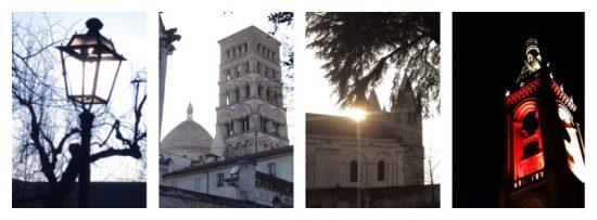 Angoulême, cathédrale, mairie, hôtel de ville, église, ville fortifiée