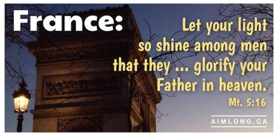 images of France, Pictures of France, Bible Verse, AIMLong.ca, AIMLong, Paris, Arc of Triumph, Arc de Triomphe