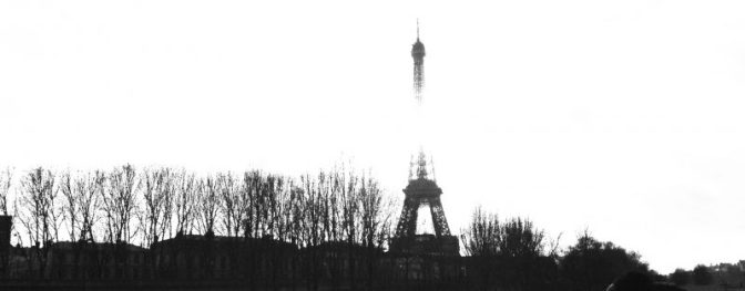 Paris Skyline featuring the Eiffel Tower