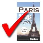 #Paris3DaysNoStress, published, Amazon Kindle, eBook, published author