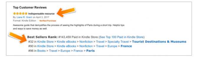 First review by verified purchase on Amazon.com, Paris 3 Days No Stress