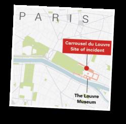 Starbucks, Carrousel du Louvre, Paris, machete attack, terrorist
