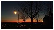 Sunset over Chauvigny