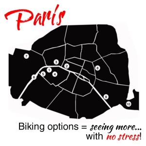 No Stress biking options in Paris