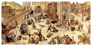 The Saint-Bartholomew's Day Massacre, by French Huguenot painter François Dubois