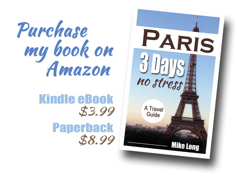 Paris 3 Days No Stress on Amazon