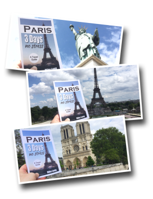 Paris 3 Days No Stress, Book, Travel Guide, Paris
