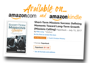 Short Term Missions, STM, Success, Youth Ministry, Youth Missions, Missionary, Summer Missions