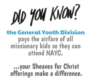 UPCI, GYD, General Youth Division, SFC, Sheaves for Christ, MK, MK Ministries, NAYC