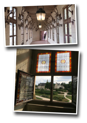 Chambord, chapel, trophy hall, antlers