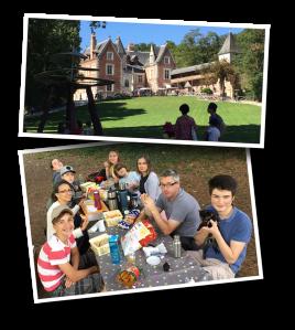 Clos Lucé, Leonardo daVinci, picnic