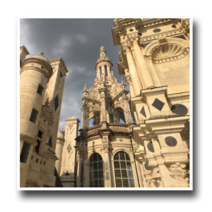chambord, france, architecture, roof